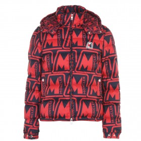 MONCLER Male Frioland Jacket length Red 450 Discount U21V32598