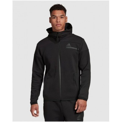 adidas Performance Men adidas Z.N.E. Full-Zip Hoodie bottoms suits Black on clearance I3VIG9385