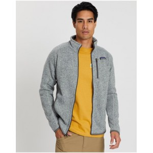 Patagonia Male Better Sweater Jacket fit types Stonewash on clearance For Sale 06VKP8639