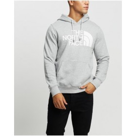 The North Face Boy Half Dome Pullover Hoodie fit types TNF Light Grey Heather  I6UGO9043