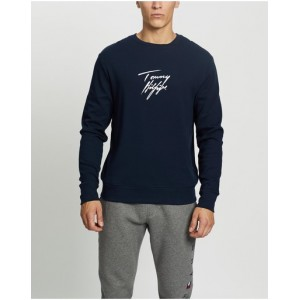 Tommy Hilfiger Boy LWK Track Top Clothing plus size Navy lifestyle Discount N3D474778
