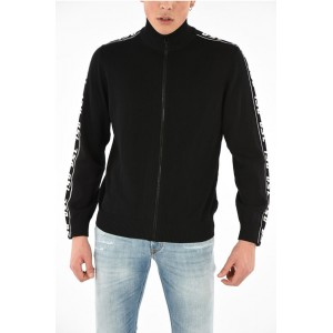 Diesel Logo Side Band K-KER-A Sweater Clothing length for Boy Cheap stores BXDY41360