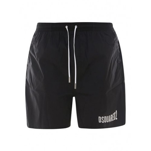 Dsquared2 Male Icon swim shorts in black Clothing fit Fitted Cheap YELL7194