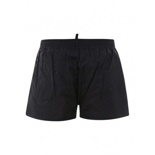 Dsquared2 Men Logo swim shorts in black Clothing sizes comfortable on clearance For Sale Q7E167110
