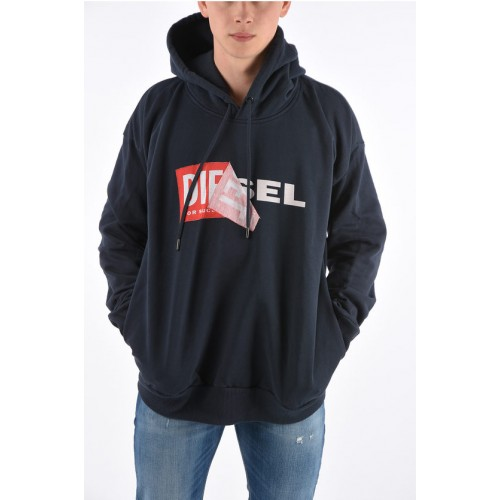 Diesel Hooded S-ALBY Sweatshirt Clothing suits for Young Men ZYZBO7916