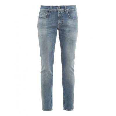 7 For All Mankind Male Slimmy Tapered Kind to the Planet jeans Clothing outfits on clearance R53T85863