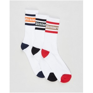 Dickies Male 3-Pack Madison Heights Crew Socks pants Assorted on clearance ZNXR08777