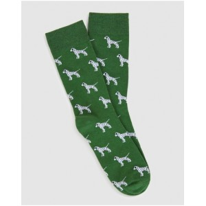 French Connection Boy Dalmatian 1 Pk Socks bottoms GREENS quality on sale online ECEMS4877
