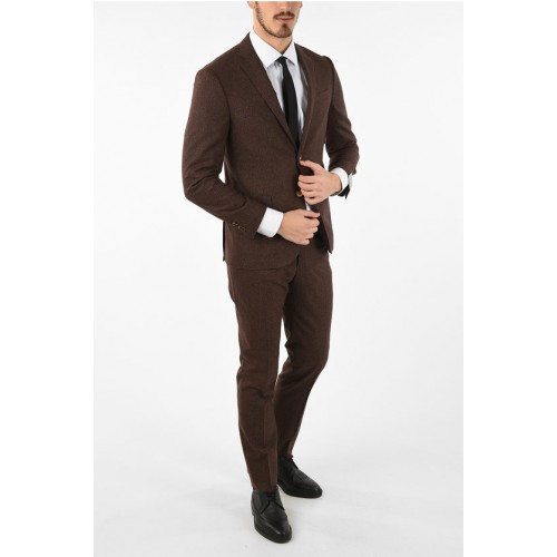 Corneliani side vents notch lapel drop 7R 2-button ACADEMY SOFT suit Clothing 90s for Men quality on clearance HQYLY2851