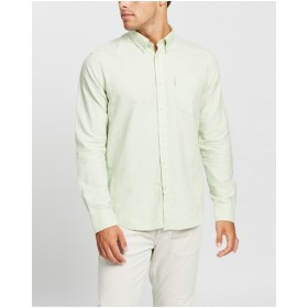 Ben Sherman Boy LS Signature Oxford Shirt Clothing sizes Light Green Fit in store GB3K62505