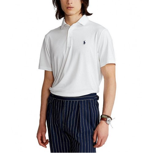 Polo Ralph Lauren Solid Jersey Performance Short-Sleeve Polo Shirt big and tall for Boy Fashion Cut Off 9Z3IL6622